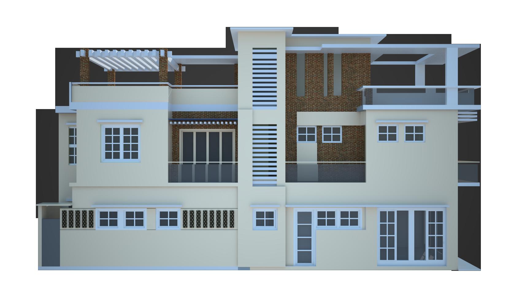 Nhà phố 5x20m